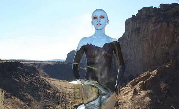 人体彩绘 Natalie Fletcher 美女艺术家