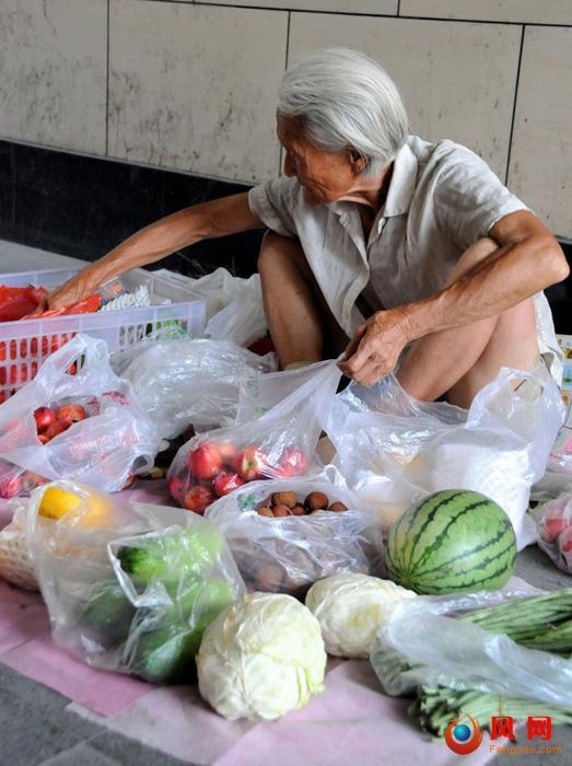 果蔬奶奶 周瑞英 卖菜 走红