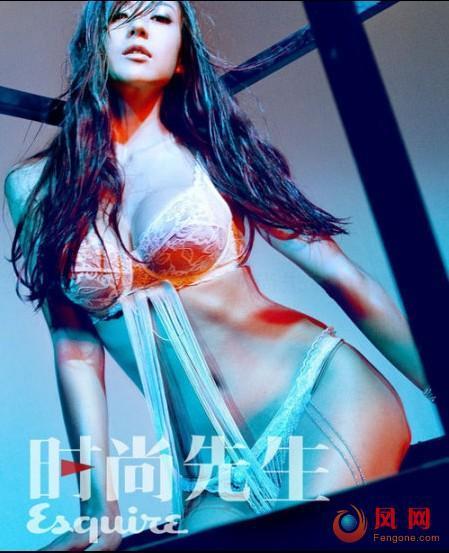 美胸女神周韦彤半裸诱惑写真 挑战钢管女郎