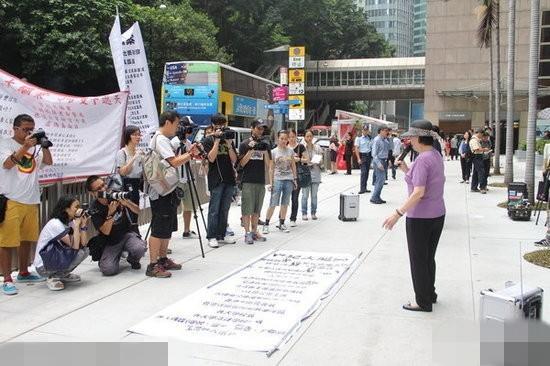 梅艳芳 遗产 梅妈 败诉 街头抗议