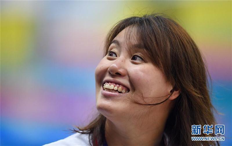 全国冠军赛:傅园慧获女子50米仰泳冠军