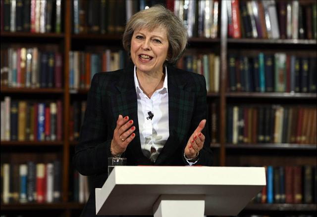 卡梅伦 特里莎·梅 英国女首相