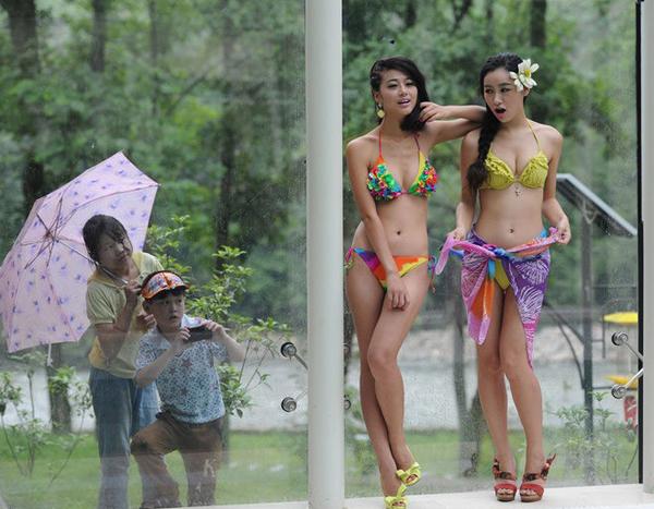 七仙女竞选 佳丽 比基尼 七夕情人节 泳装