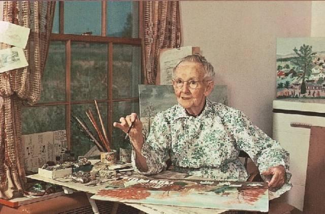 """""""今天""""的她 摩西奶奶 励志"""