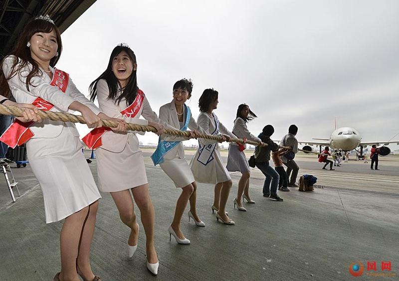 日本小姐 佳丽 拉客机 儿童日