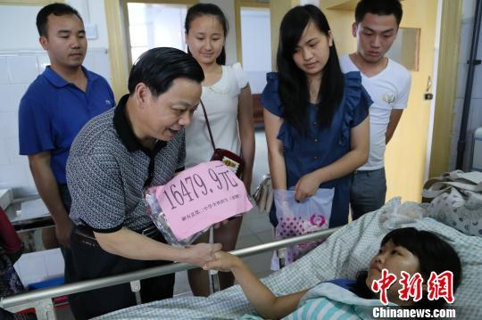 广西重病女孩 重病女孩高考